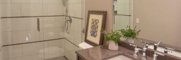 beautiful bathroom renovation from Nates Custom Renovations