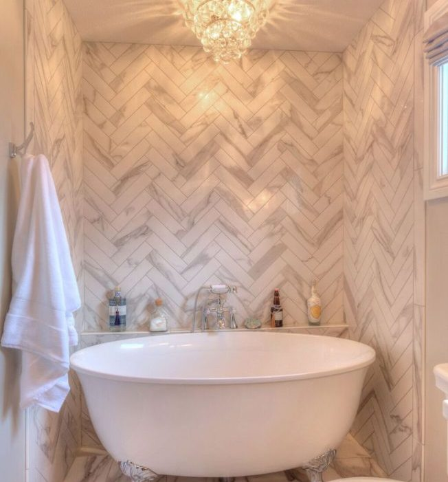Beautiful master bathroom remodel by Nate's Custom Renovations